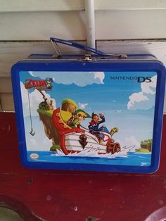 Zelda Nintendo DS Lunchbox Metal Lunch Box Carryall No Thermos