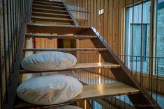 Designhotel Armazém Luxury Housing in Porto, Portugal  #designhotel #boutiquehotels #Porto #Portugal Design Hotel, Porto Portugal, Hotels, Around The Worlds, Stairs, Contemporary, Luxury, House, Home Decor