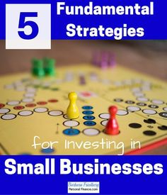 5 Fundamental Strategies for Investing in Small Businesses Trade Finance, Finance Blog, Stock Market Investing, Investing In Stocks, Investment Companies, Investment Advice, Investment Property, Successful Business Tips, Finance Business