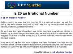 Is 25 an Irrational Number? Irrational Numbers, Real Numbers, Integers, Zero, This Is Us, Sayings, Lyrics, Quotations, Idioms