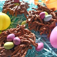 Easter Egg Nests!!!!! I love making these! Cute and yummy!