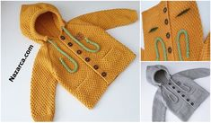 KOLAY ETAMİN ÖRNEKLERİ   Nazarca.com Baby Knitting Patterns, Crochet Patterns, Granny Square Crochet Pattern, Baby Cardigan, Baby Dress, Crochet Baby, Reusable Tote Bags, Crochet Decoration, Baby Layette