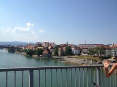 The last greetings to the river Drava and the beautiful city of Maribor, tomorrow we'll start our descents to south...