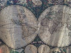 World map minky blanket double sided minky baby cuddle blanky world map minky blanket baby cuddle quilt vintage art map of the world gumiabroncs Gallery