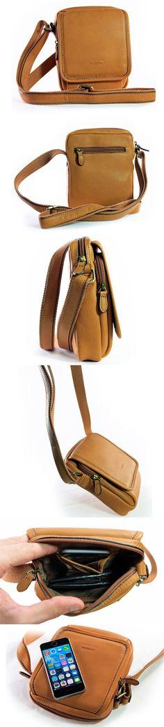 little shoulder bag kleine schoudertas tas tassen bag bags cognac real leather echt leer shop now at safekeepers