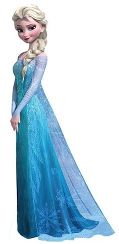 Snow Queen Elsa – Disney's Frozen Lifesize Standup Cardboard Cutouts at AllPoste… - Party Ideas