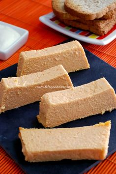 Falso paté de cabracho Food N, Food And Drink, My Favorite Food, Favorite Recipes, No Cook Appetizers, Brunch, Spanish Cuisine, Sin Gluten, Seafood Recipes
