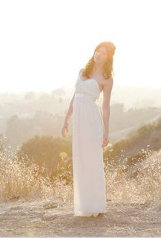 As seen in Exquisite weddings-Romantic strapless silk wedding dress. $700.00, via Etsy.