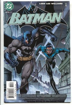 Batman 615 DC 2003 VF NM Hush 8 Jim Lee Jeph Loeb Nightwing