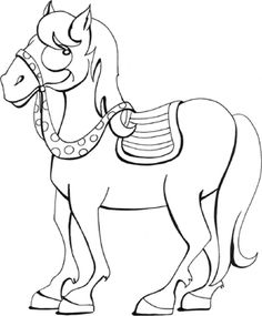 Horse Coloring Pages Printable My Little Pony Book