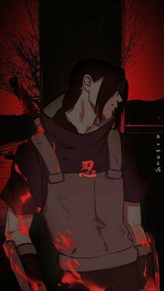 I wish I was as strong as him Itachi Uchiha, Naruto Boys, Naruto Sasuke Sakura, Naruto Art, Anime Naruto, Gaara, Manga Anime, Wallpapers Naruto, Naruto Wallpaper
