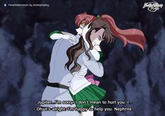 Jupiter and Nephrite in Anime Crystal Fanmade. In act 5, Nephrite is a very rude! He spoke hurt Jupiter, She is accused of fundamentalists in love. (Although it was not the real him.)&nbs...