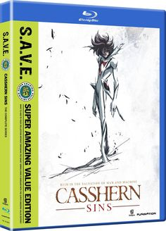 Eric Vale & Trina Nishimura & Jason Grundy-Casshern Sins: Complete Series S. Outlaw Star, Sci Fi Anime, Anime Reviews, Instant Video, Holiday Wishes, Tv, My Love, Movies, February 5