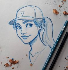 New Drawing Art Sketches Character Design Ideas Art Drawings Sketches, Cartoon Drawings, Cool Drawings, Drawing Art, Cute Drawings Of Girls, Drawing Animals, Drawing Ideas, Art And Illustration, Character Illustration