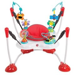 Sassy Inspire the Senses Bounce Around Activity Center - The high-contrast colors, bold patterns and fun textures will inspire baby's senses. All toys are designed to inspire one or more of baby's senses - hearing Baby Sense, Baby Jumper, Baby Bouncer, Baby Swimming, Baby Swings, All Toys, Kids Toys, Toddler Toys, Good Luck