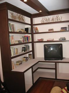 How to Make Built-in Bookshelves | Interior Design Styles and Color Schemes for Home Decorating | HGTV