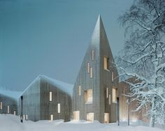 CULTURE: Reiulf Ramstad Architects, Romsdal Folk Museum, Molde, Norway. Image via World Architecture Festival