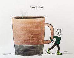 It's Monday...by Marta Scupelli • www.stripe-me.com