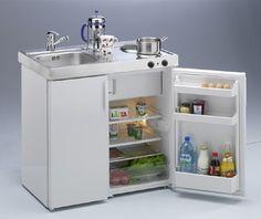 Mini-cocina Kitchenline MK 90 blanca de Limatec