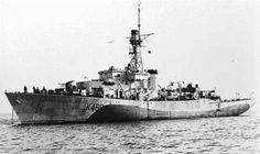 HMCS HESPELER K489 Royal Canadian Navy, Royal Navy, Dazzle Camouflage, Navy Ships, Submarines, Corvettes, Aircraft Carrier, Wizards, Armed Forces