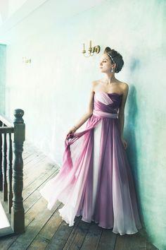 EP1146  #gradation #NOVARESE #ノバレーゼ #colordress #organdie #purple