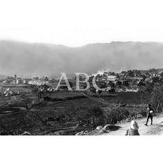 MARRUECOS. EN LA ZONA OCCIDENTAL. UN ASPECTO DEL CAMPAMENTO DE NUESTRAS TROPAS, INMEDIATO A LA CIUDAD DE XAUEN: 1922 (CA.)Descarga y compra fotografías históricas en | abcfoto.abc.es