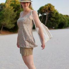 Débardeur jersey pour débutant Pop Couture, Peplum, Tops, Women, Fashion, Haute Couture, Moda, Fashion Styles, Veil
