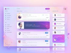 ➡️ A killer dashboard UI by UixNinja --------------------------------------------------- What do you think of this design? Dashboard Ui, Dashboard Design, Ui Ux Design, Interface Design, Intranet Design, User Interface, Design Trends, Dashboard Examples, Sketch Design