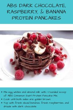 This is the best protein pancake mix out there. This is perfect for a low carb breakfast or if you're looking for healthy weight loss recipes. Gluten Free, All Natural and over of Protein per serving. Great for a weight loss program. Crockpot Recipes, Keto Recipes, Banana Protein Pancakes, Crepes And Waffles, Eat Smart, Waffle Recipes, Low Carb Breakfast, Healthy Recipes For Weight Loss, Brunch Ideas