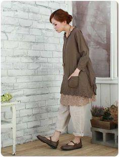 Rakuten 70% sleeve embroidery lace cotton blouse [4717] [P15Aug15] [10P23Aug15]: Mycloset