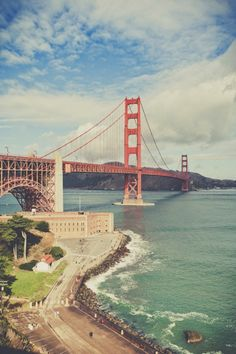 Make sure to catch the Golden Gate Bridge from every angle.