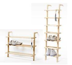 Side by side shoe rack | Gaston