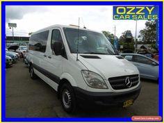 2008 Mercedes-Benz Sprinter 906 315 CDI MWB White Automatic 5sp Automatic Van #mercedesbenz #sprinter #forsale #australia