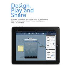 Nice UI mockup app for iPad & iPhone