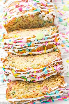 Unicorn Banana Bread
