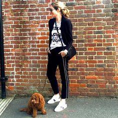 Dress down Monday. Lots of favourites #black #monochrome #white #ootd #wiwt