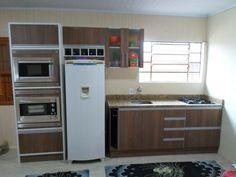 Resultado de imagem para cozinhas planejadas sem balcão