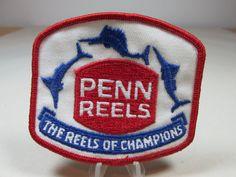 Penn Reels Patch Vintage Advertising Patch Vintage Uniform Patch Fishing Patch…