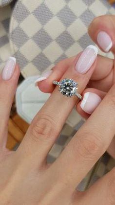 Cute Engagement Rings, Luxury Engagement Rings, Round Solitaire Engagement Ring, Simple Elegant Engagement Rings, Tiffany Engagement Rings, Engagement Nails, Most Beautiful Engagement Rings, Elegant Wedding Rings, Cushion Cut Engagement Ring