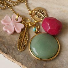 Beautiful new necklace. Soon online @ www.tresj.nl