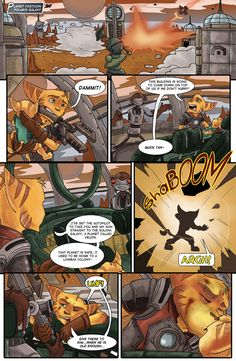 have fun! next:Clank manga My Mechanic, Jak & Daxter, Cute Cartoon Animals, Short Comics, Ratchet, Dragon Age, Father And Son, Furry Art, Game Art