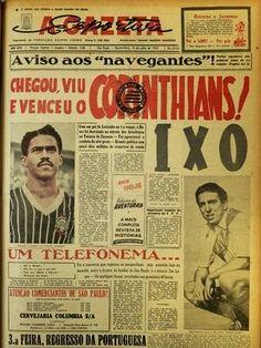 CORINTHIANS HISTÓRIA: A Pequena Taça do Mundo - 1953