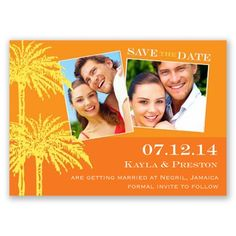 Sunshine Magnet - Photo Save the Date   Invitations By David's Bridal