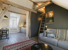 super cosy attic in Paris (via Una piccola mansarda a Parigi - Grazia.it)