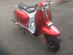 Scomadi TL 300 Hand Built Lambretta With Vespa Engine | eBay