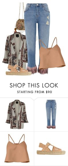 """""""haute hippie"""" by peeweevaaz ❤ liked on Polyvore featuring River Island, TIBI, Loeffler Randall, outfit, summerstyle, polyvoreeditorial and polyvorefashion"""