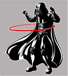 Darth Vader - Hula Hoops