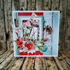 Christmas Note, A Christmas Story, Christmas Cards, Under The Mistletoe, How To Make Snow, Burning Candle, Paper Cards, Note Cards, Shabby
