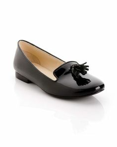 Kathy Loafer (I want the male version of THIS! -minus the tassel +plus lace)