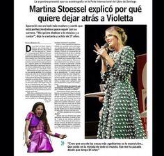 Eso fue lo que salio en el diario Chileno!! Buen dia amores como estan? ❤️❤️